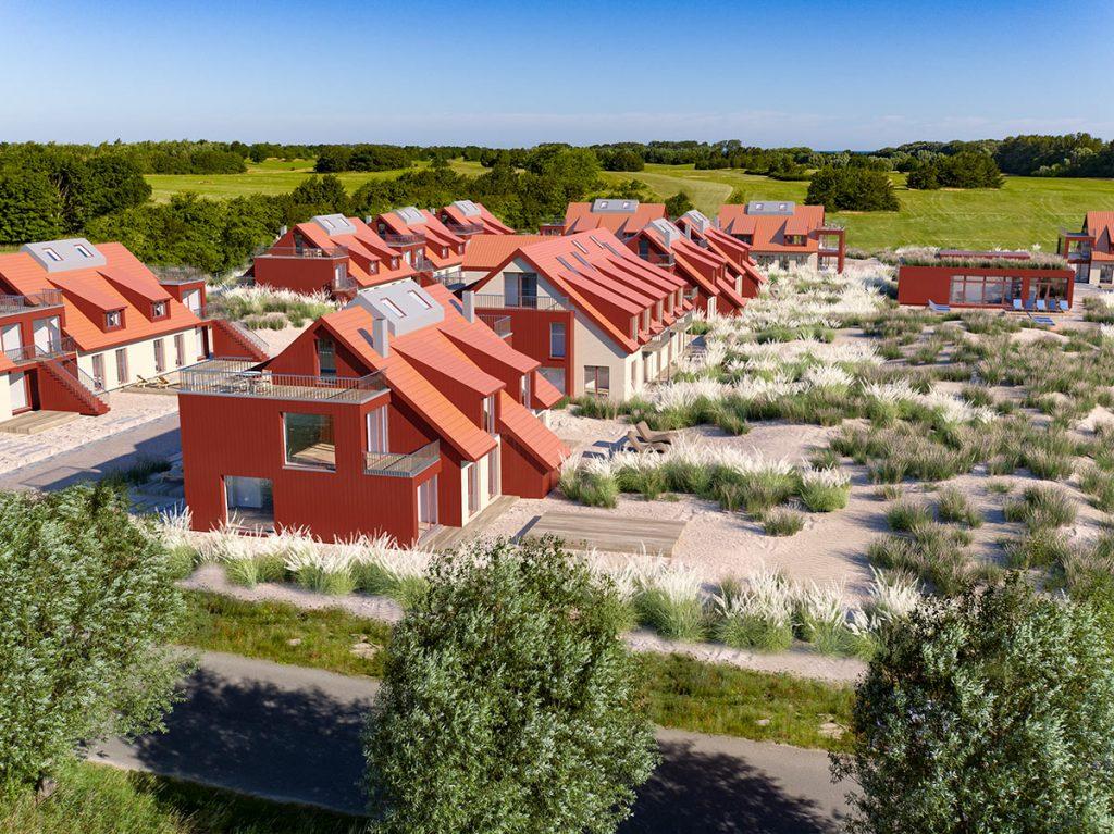 Start Einzelverkaufsphase von Ferienimmobilien an der Ostsee – Bades Huk.